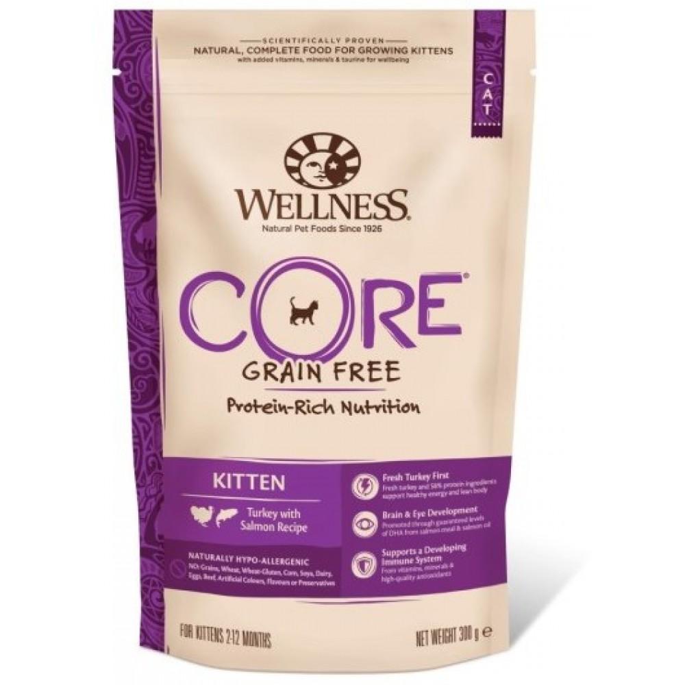 Wellness Core Корм из индейки с лососем для котят