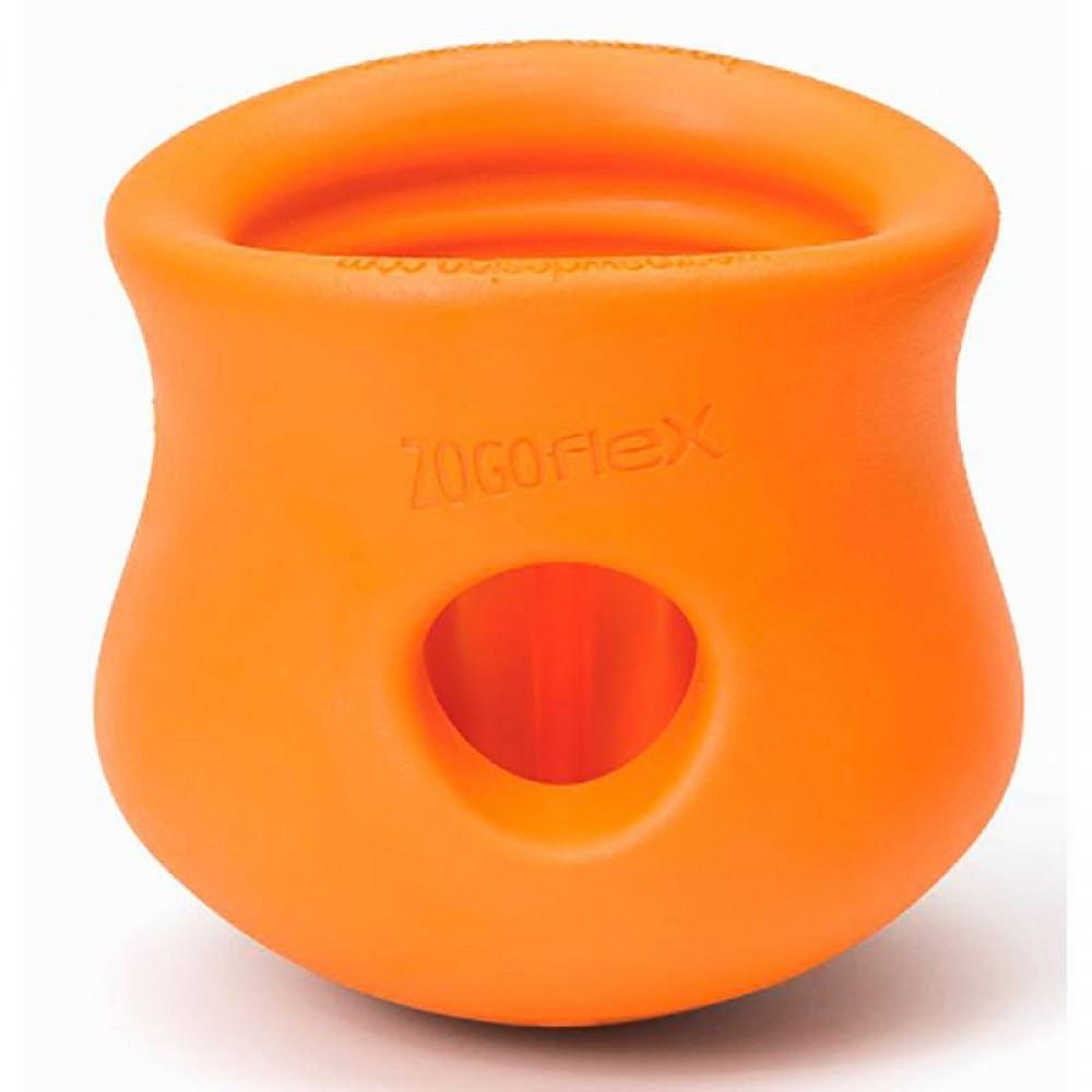 Zogoflex Toppl - Игрушка под лакомства для собак зеленая/оранжевая