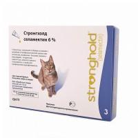 Stronghold Стронгхолд капли для кошек, 1 пип.