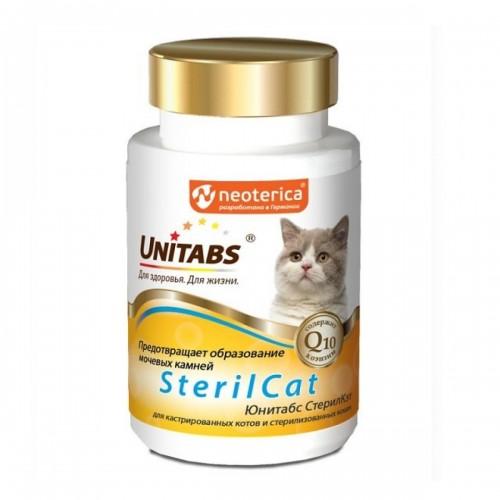 Unitabs SterilCat Юнитабс Стерил Кэт витамины для стерилизованных кошек 120 шт